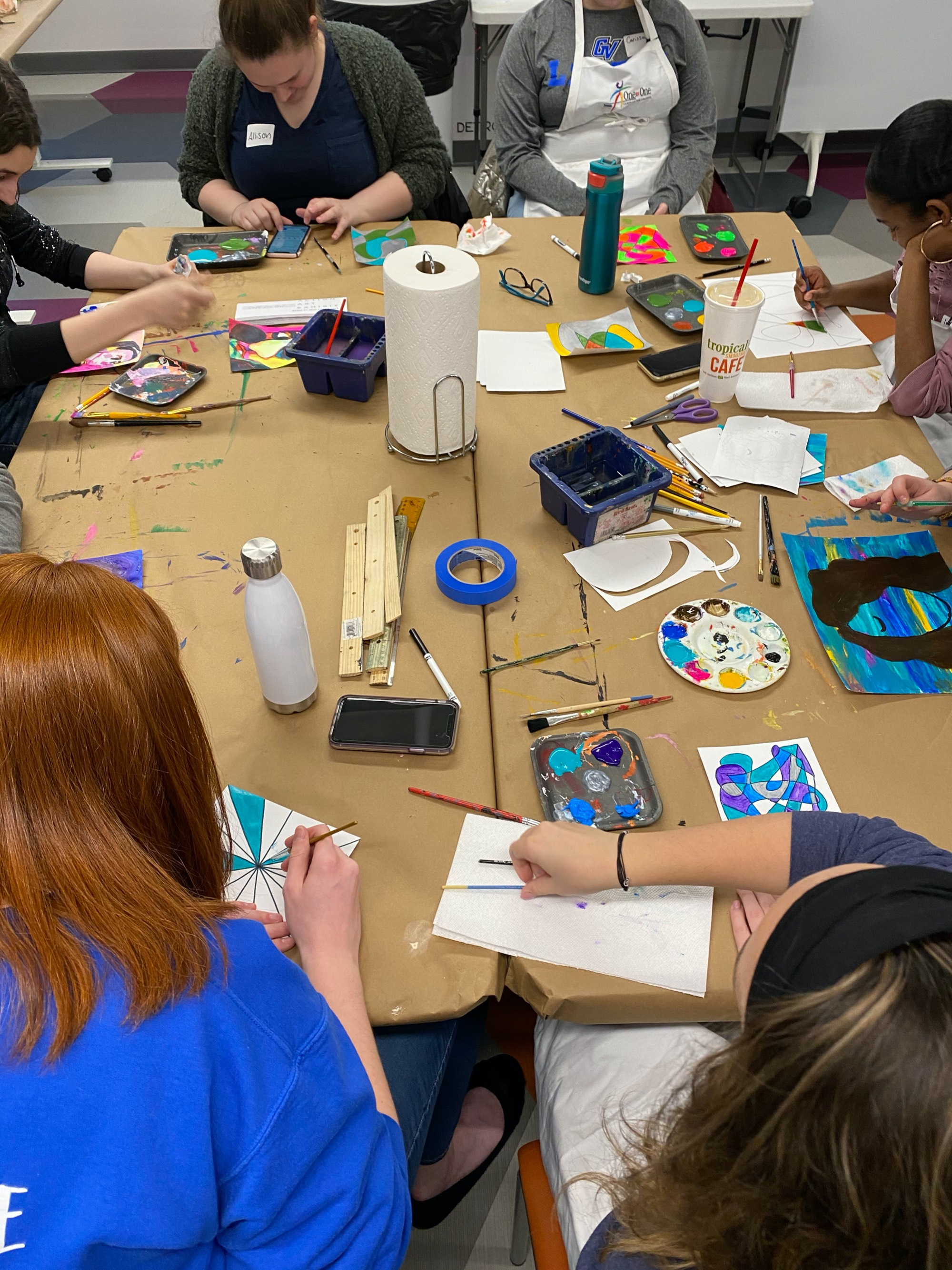 Campus Links with Artists Creating Together
